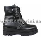 Ботинки H7825-302-1708 черная кожа бот