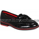 Туфлі N2349V15-1365  черный лак  туф