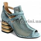Літній туфель JH08L-R8-MX15  blue замш  л-т