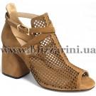 Літній туфель JH08L-R8-MX10  brown замш  л-т