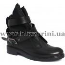 Ботинки 166 G1  черная кожа  бот