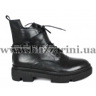 Ботинки G382-6-R51M-N112 (полн мех)  черная кожа  бот з