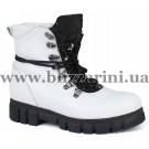 Ботинки 618 C3-2110 beyaz floter  белая  кожа  бот
