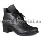 Ботинки 314 300 138 (БОЛ Р)  черная кожа сатин  бот