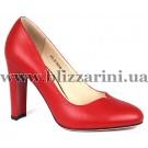 Туфлі S72-25-Y327AK  красная кожа  туф