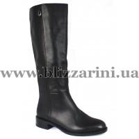 Чобіт Z151-17B-N619BM (мех 4)  черная кожа  зима