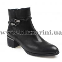 Ботинки BF499-5D845-B253/C047 (бол разм) black кожа бот