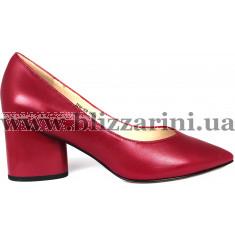 Туфлі Z244-90A-Y595K темн розовая кожа туф