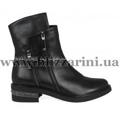 Ботинки M920-333-2411 черный кожа бот