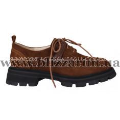 Туфлі K6235-508-1802 корич замш туф