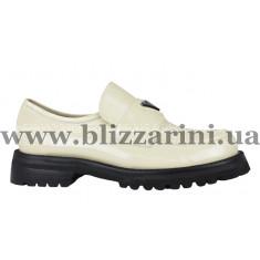 Туфлі LD163-03-QP247TA бежевая масло кожа туф