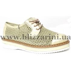 Літній туфель C2-0723   bej suet бежевый замш/кожа