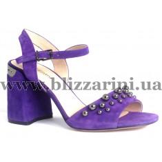 Босоніжки JH93L-R6-YJ50  violet замш  л