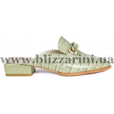 СабоСабо, шлепанцы 18J726-07L-6458 зеленый лак л