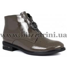 Ботинки H532-257-N420  серый лак  бот